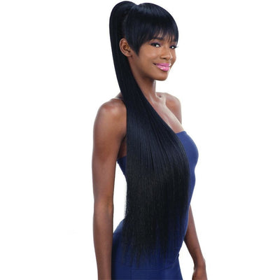 FreeTress Equal Synthetic China Bang & Ponytail – Long Sleek Yaky 36""