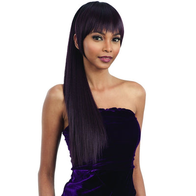 FreeTress Equal Synthetic Bang & Ponytail – Yaky Straight (China Bang)