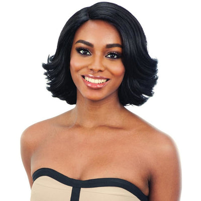 FreeTress Equal Natural Me 5-Inch Lace Part Synthetic Wig – Natural Set (S)