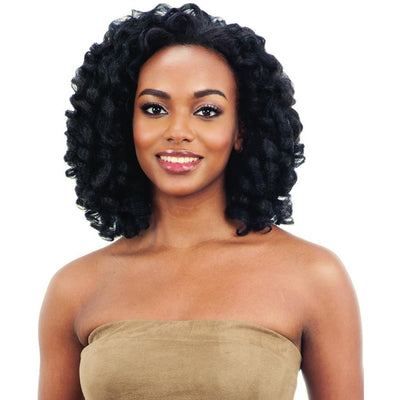FreeTress Equal Natural Me FullCap Drawstring Synthetic Half Wig – Natural Rod Set 1""