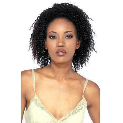 FreeTress FullCap Drawstring Half Wig – Jamaican Girl