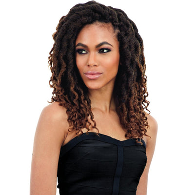 FreeTress Braids – 2X Cuban Wavy Gorgeous Loc 12"