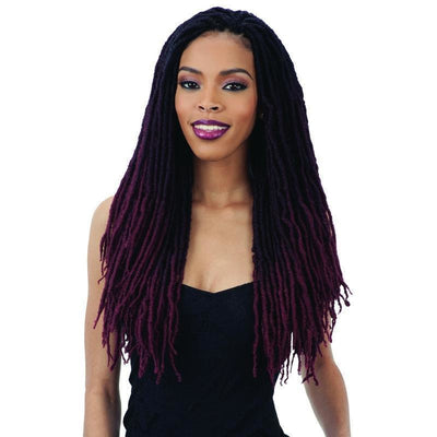 FreeTress Synthetic Braids – 2X Gypsy Locs 18""