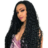 FreeTress Synthetic Braids – Boho Hippie Braid 22""