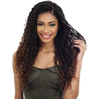 FreeTress Synthetic Braids – Boho Hippie Loc 20""