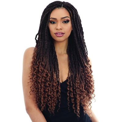 FreeTress Synthetic Braids – Hippie Braid 22""