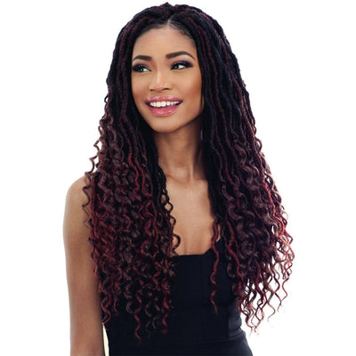 FreeTress Synthetic Braids – Hippie Loc 20""