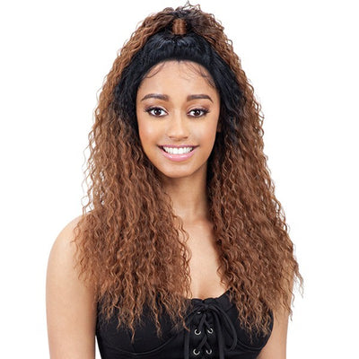 Model Model Synthetic Half-Up Lace Front Wig – Gia