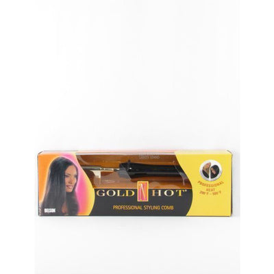 Gold 'N Hot Professional Styling Comb #GH299