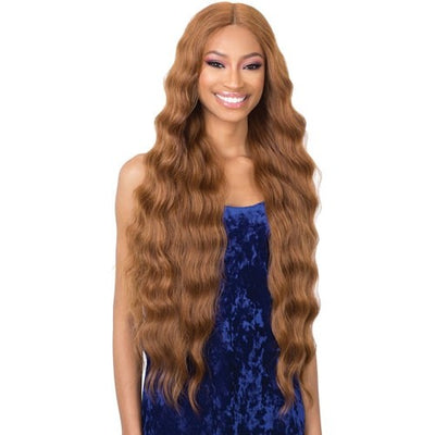Shake-N-Go Organique Synthetic Lace Front Wig - Halo Wave 32""