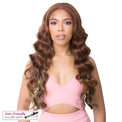 It's A Wig! Natural Hairline Synthetic Frontal S Lace Wig – Asia