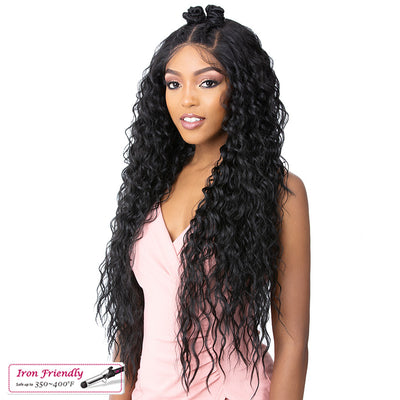 It's A Wig! Natural Hairline Synthetic Frontal S Lace Wig – Jade