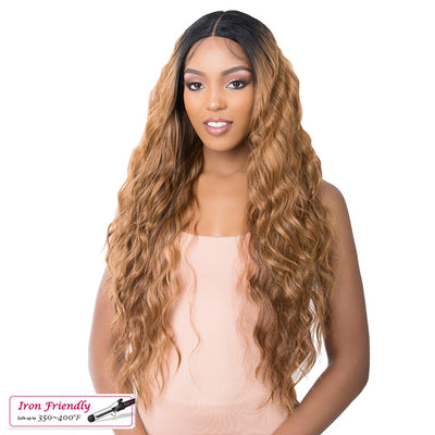 It's A Wig! Synthetic 5G Transparent Lace Front Wig - HD Lace Logan