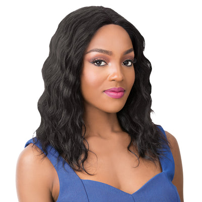 It's A Wig! Salon Remi Human Hair Swiss Lace Front Wig – Wet N Wavy Pacific Wave