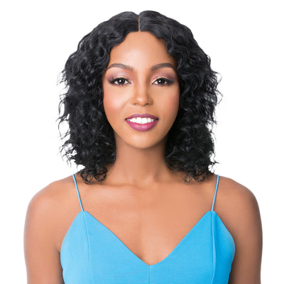 It's A Wig! Wet & Wavy Brazilian Human Hair Wig - HH Mirror