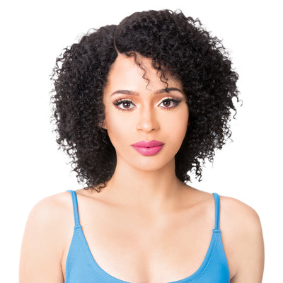 It's A Wig! Salon Remi Human Hair Swiss Lace Front Wig – Wet N Wavy Story