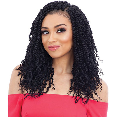 FreeTress Synthetic Braids - 2X Spring Twist 12""