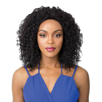 It's A Wig! Human Hair Salon Remi Swiss Lace Front Wig – Wet N Wavy Jerry