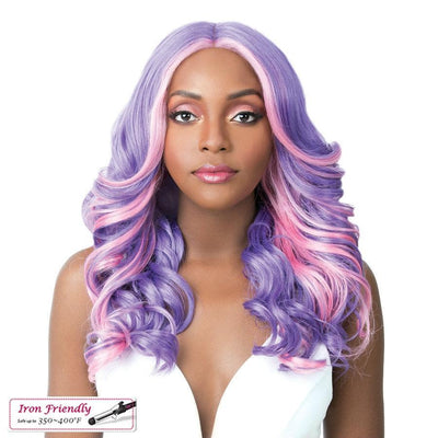 It's A Wig! Synthetic Swiss Lace Front Wig – Frida