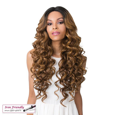It's A Wig! Synthetic Swiss Lace Front Wig – Keeff