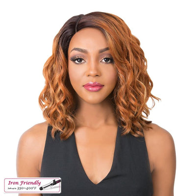 It's A Wig! Synthetic Swiss Lace Front Wig - Oligo