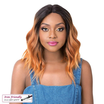 It's A Wig! Synthetic Swiss Lace Front Wig – Sun Kiss