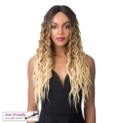 It's A Wig! Synthetic Swiss Lace Front Wig – Sunflower