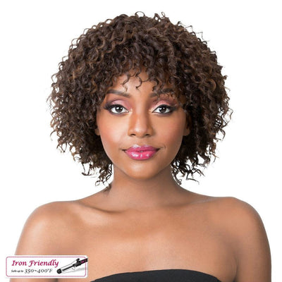 It's A Wig! Iron Friendly Synthetic Wig – Jazzy Girl