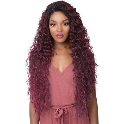 It's A Wig! 360 All-Round Human Hair Blend Deep Frontal Lace Wig – Tamara