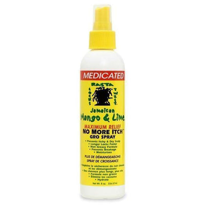 Jamaican Mango & Lime No More Itch Mentholated Gro Spray 8 oz