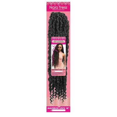 Janet Collection Nala Tress Synthetic Braids - Maverick Locs 18""