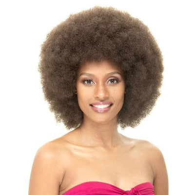 Janet Collection Synthetic Wig – Afro
