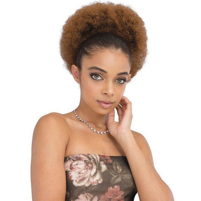 Janet Collection Noir Everytime Drawstring Ponytail – Afro Lady