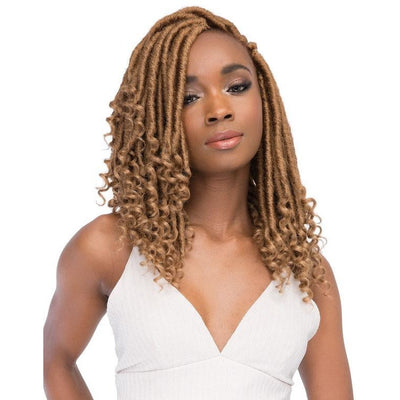 Janet Collection Synthetic Braids – Ghana Faux Locs 12""