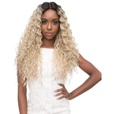 Janet Collection Synthetic Lace Based Extended Part Swiss Lace Wig – Marilyn