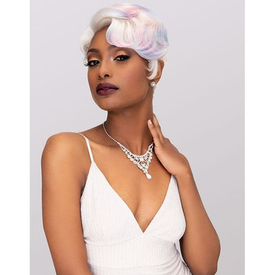 Janet Collection Synthetic Lace Based Extended Part Wig – Halle