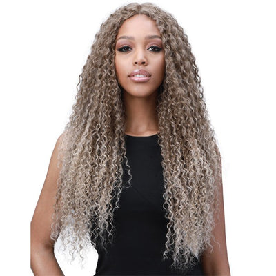 Bobbi Boss Human Hair Blend Miss Origin One Pack Solution Weave – Natural Jerry Curl