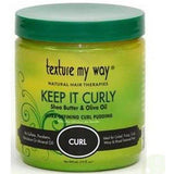 Texture My Way Keep It Curly Shea Butter & Olive Oil Ultra Defining Curl Pudding 15 OZ