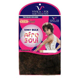 Vivica A. Fox Human Hair Braid – Afro Kinky Bulk 16""