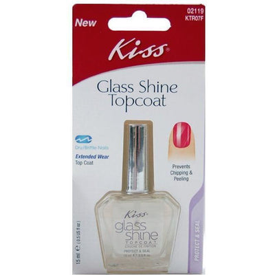 Kiss Glass Shine Topcoat – KTR07F