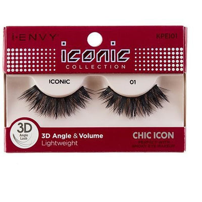 Kiss i-ENVY Chic Icon Lashes Iconic 01 KPEI01