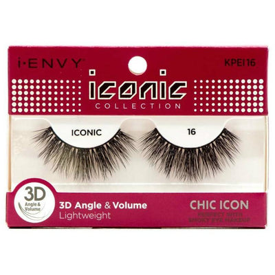 Kiss i-ENVY Chic Icon Lashes Iconic 16 KPEI16