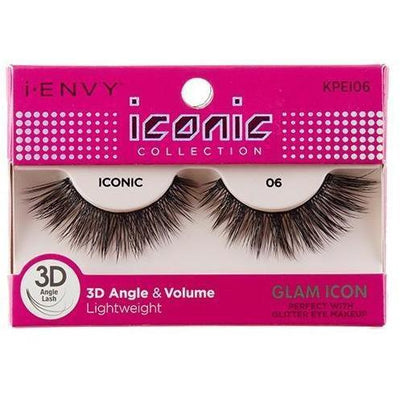 Kiss i-ENVY Glam Icon Lashes Iconic 06 KPEI06