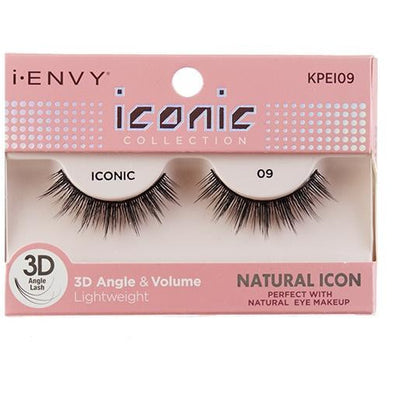 Kiss i-ENVY Natural Icon Lashes Iconic 09 KPEI09