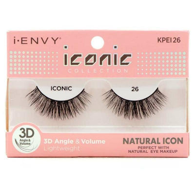Kiss i-ENVY Natural Icon Lashes Iconic 26 KPEI26