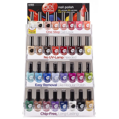 Kiss New York Gel Strong Nail Polish