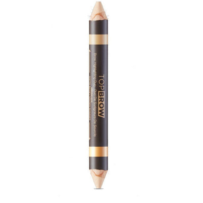 Kiss New York Top Brow Highlighting Duo – KBHD01 Matte Beige Golden Shimmer