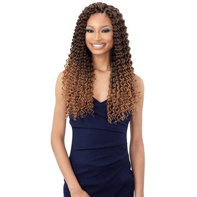 FreeTress Synthetic Crochet Braids - 3X Summer Deep 18""