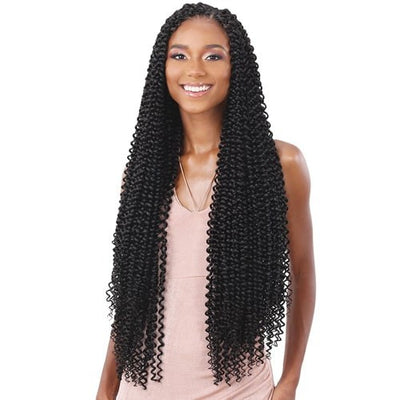FreeTress Synthetic Crochet Braids - Water Wave Extra Long
