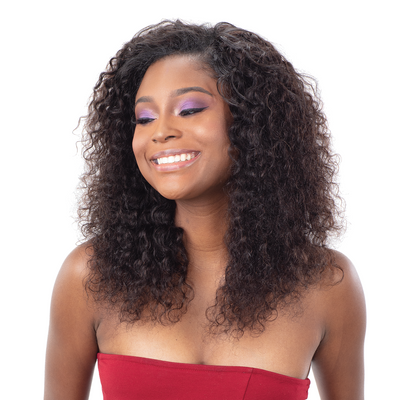Shake-N-Go Ibiza Wet & Wavy 100% Virgin Human Hair Bundle Weave - Deep 3PCS